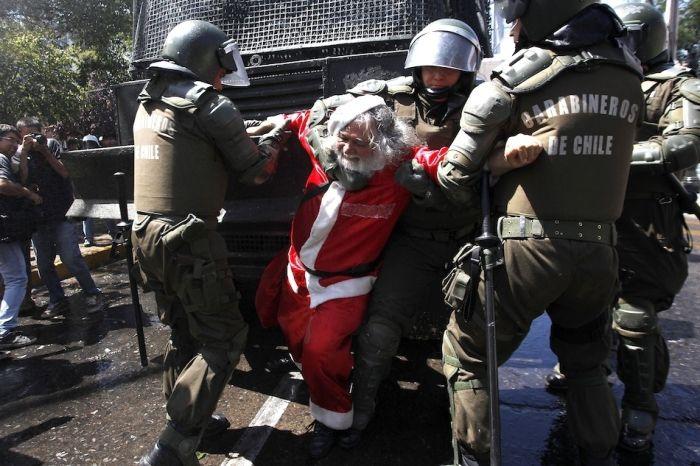 Santa Arrested 1funny Com